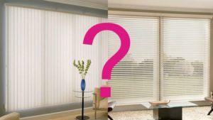 Горизонтальные или вертикальные жалюзи – какие лучше?
