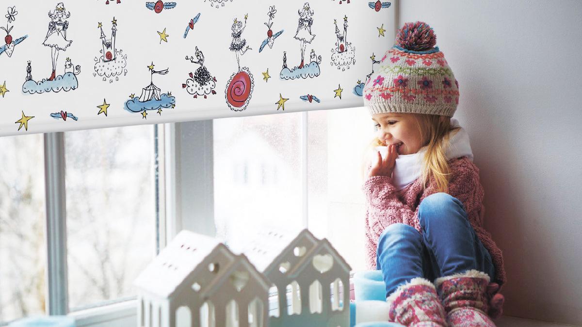 Read more about the article Жалюзи для детской комнаты