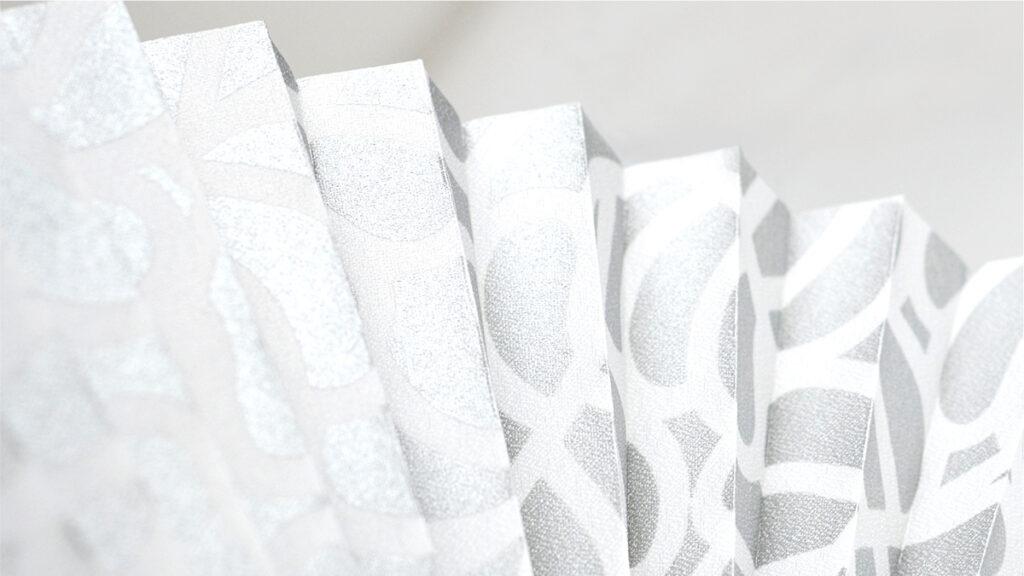 Ткань для штор-плиссе с рисунком Клео (принт)